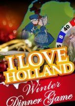 I Love Holland Winter Dinerspel in Alkmaar